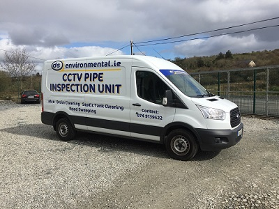 CCTV drain surveys in ireland